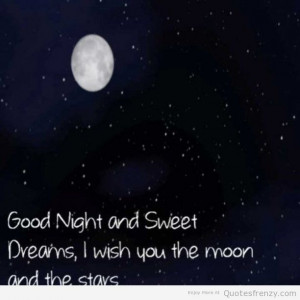 Goodnight Sweetdreams sleep Quotes