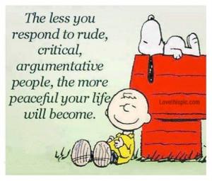 rude critical people