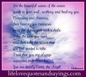 Let The Beautiful Waves Of The Ocean Speak To Your Soul..