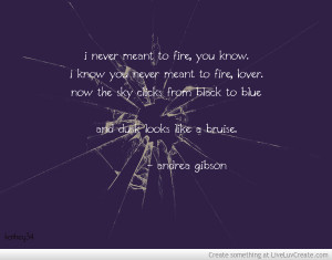 Andrea Gibson - Photograph Quote