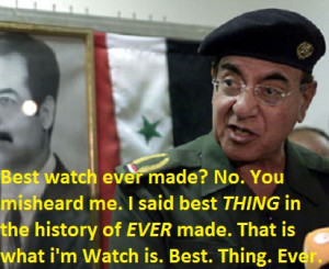 Iraqi Information Minister Mohammed Saeed al-Sahaf says i'm Watch is ...