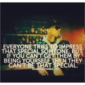 Always stay true to yourself!