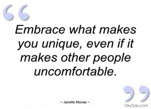 embrace what makes you unique