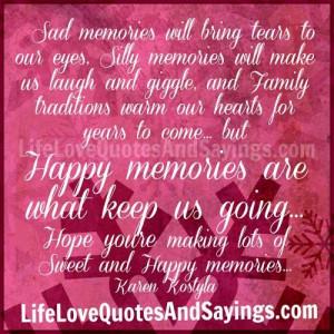 Sad Memories..