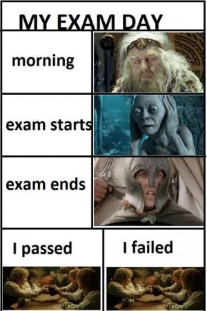 My Exam Day Funny whatsapp image of funny Jokes