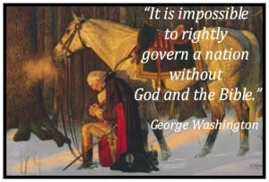 George Washington praying at Valley Forge What is this humble, God ...