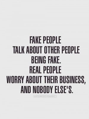 Fake people