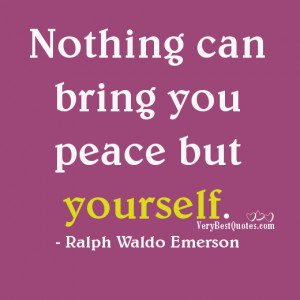... Picture quotes about Inner Peace Quotes and Peace Of Mind