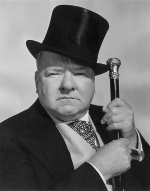 ... Quinn, Cecil B. DeMille, and a hard drinker, comedy icon W.C. Fields