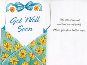 Get Well Soon Card With Quotes