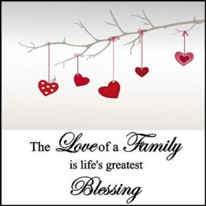 Family Blessings Quotes