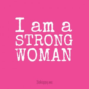 Try Me... I'm a strong woman and NOTHING can break me.... Bahaha but ...