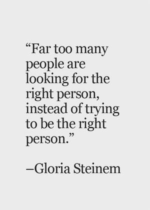 The Weekend Wonder – Gloria Steinem