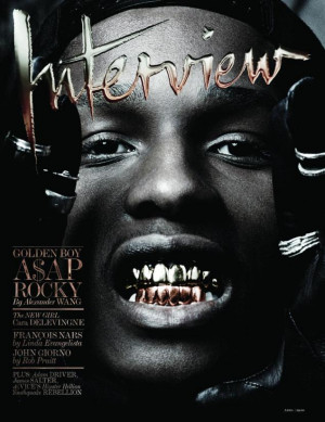 The Best Quotes From ASAP Rocky and Alexander Wang's 'Interview' Mag ...