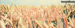 Life Goes On Fb Cover