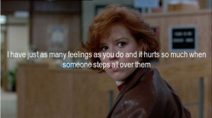 quotes MY EDIT the breakfast club John Hughes molly ringwald judd ...