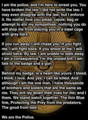 End of watch quote