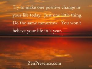 Zen proverb!