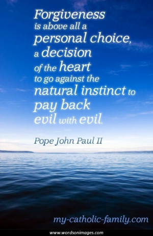 Quotes from pope john paul ii