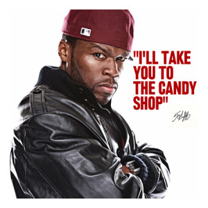 50 cent quote canvas art print 50 Cent Quotes