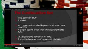 Texas Holdem Lessons screen shot 5