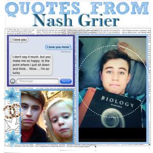 Nash Grier Quotes ♛