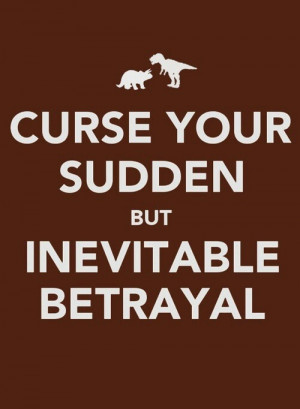 Betrayal. I was warned by those that really knew you.. How wrong I was ...