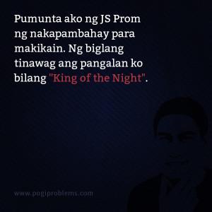 Pumunta ako ng JS Prom ng nakapambahay para makikain. Ng biglang ...
