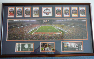 An Auburn fan's season tickets, playoff and championship tickets and ...