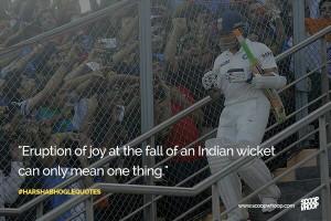 Harsha Bhogle Quotes... #IndianCricket #Sachin