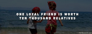 Loyal friends quotes facebook cover photo - Friendship facebook Covers