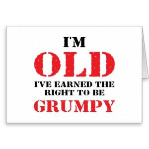 Funny Senior Citizen Gift Card