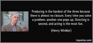 More Henry Winkler Quotes