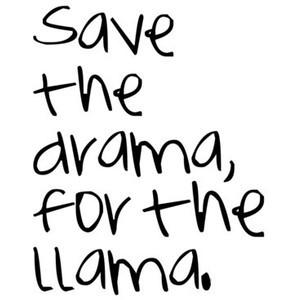 Drama Llama Quotes