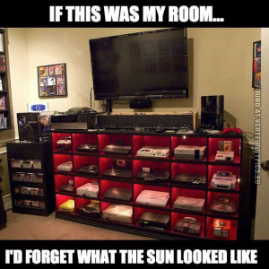 Funny Pictures - If this was my room i'd forget what the sun looked ...