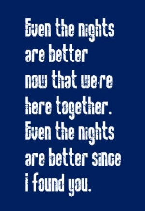 Air Supply - Even the Nights Are Better - song lyrics, song quotes ...