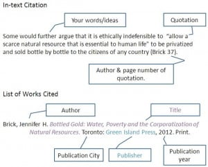 How to cite a quote in an essay?
