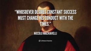 Machiavelli Quote