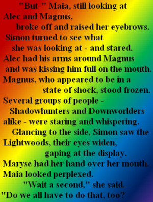 The Mortal Instruments Quotes In Latin The mortal instruments - malec