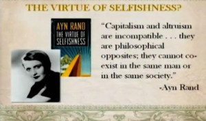 response to ayn rand ayn rand however is much more certain that ...