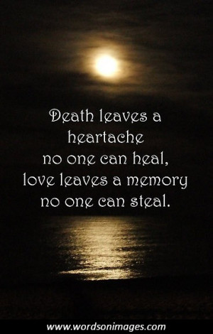 famous sympathy quotes for death