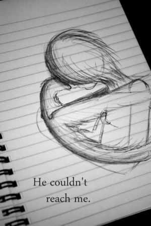art, doodle, drawing, emo, love, notebook, quote, sad, sketch