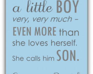Love My Baby Boy Quotes Boy nursery decor. baby boy