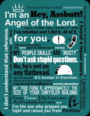 supernatural #Castiel #supernatural quotes