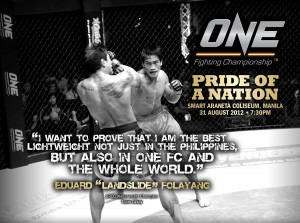 Hayabusa Philippines and Eduard Folayang Team Up for ONE FC 5: Pride ...