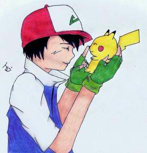 Ash Pikachu Yodapee Deviantart