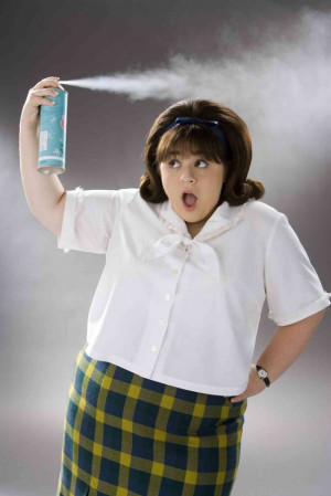 "Nikki Blonsky stars as ""Tracy Turnblad"" in New Line Cinema's ..."