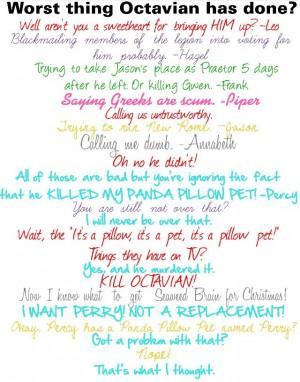 Percy Jackson Panda Pillow Pet
