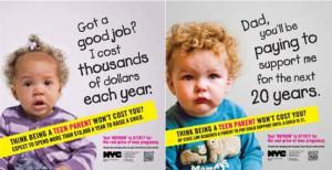teen mom subway ad nyc