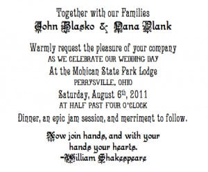 Watch Wedding Invitation Text Together With Our Families 1886.asp ...
